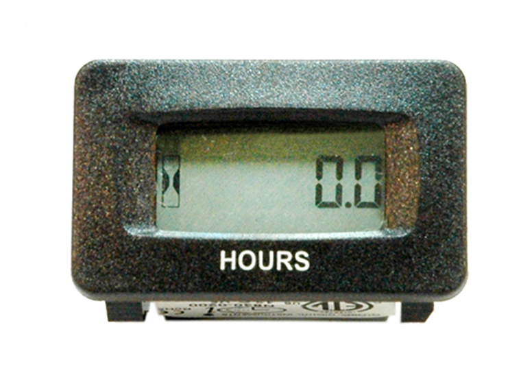 Hour Meters Panel : Hour meter sendec panel mount