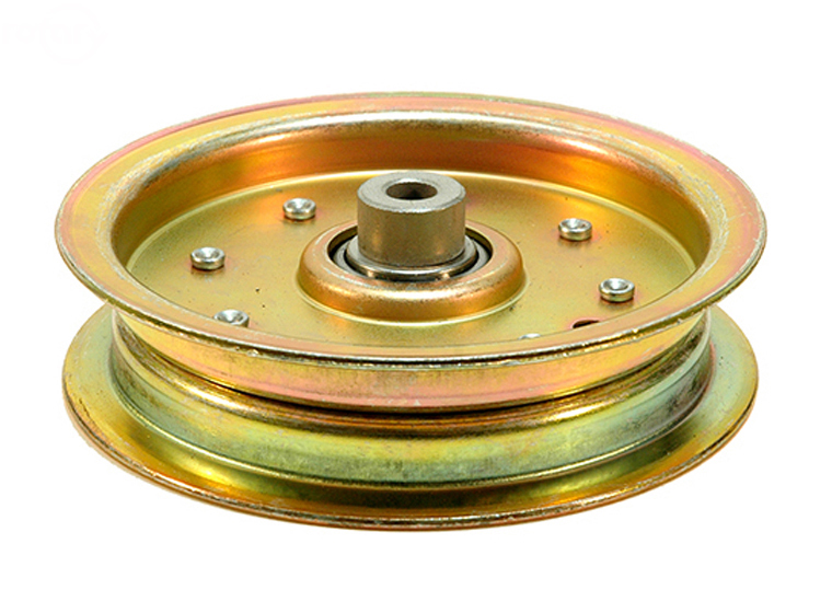 Flat Pulleys For Sale : Rotary idler pulley for scag steel flat